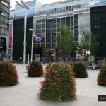 Aranżacja przestrzeni w centrach handlowych