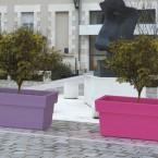 Francuskie donice miejskie