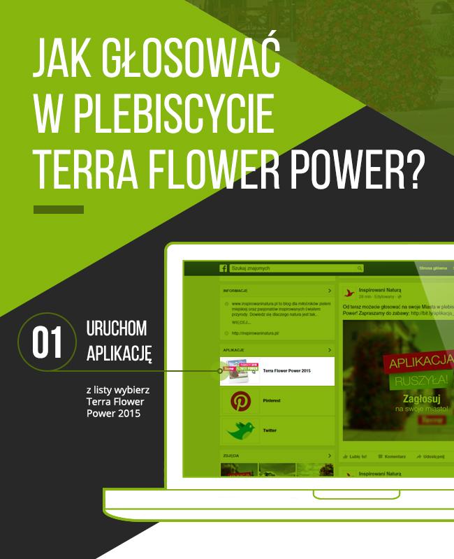 tutorial Terra Flower Power - głosowanie krok 1