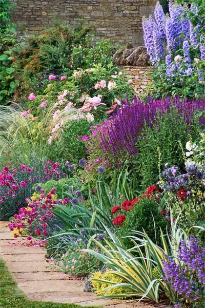 Ogr d idealny czyli jakie ro liny warto mie w for Cottage garden design zone 5