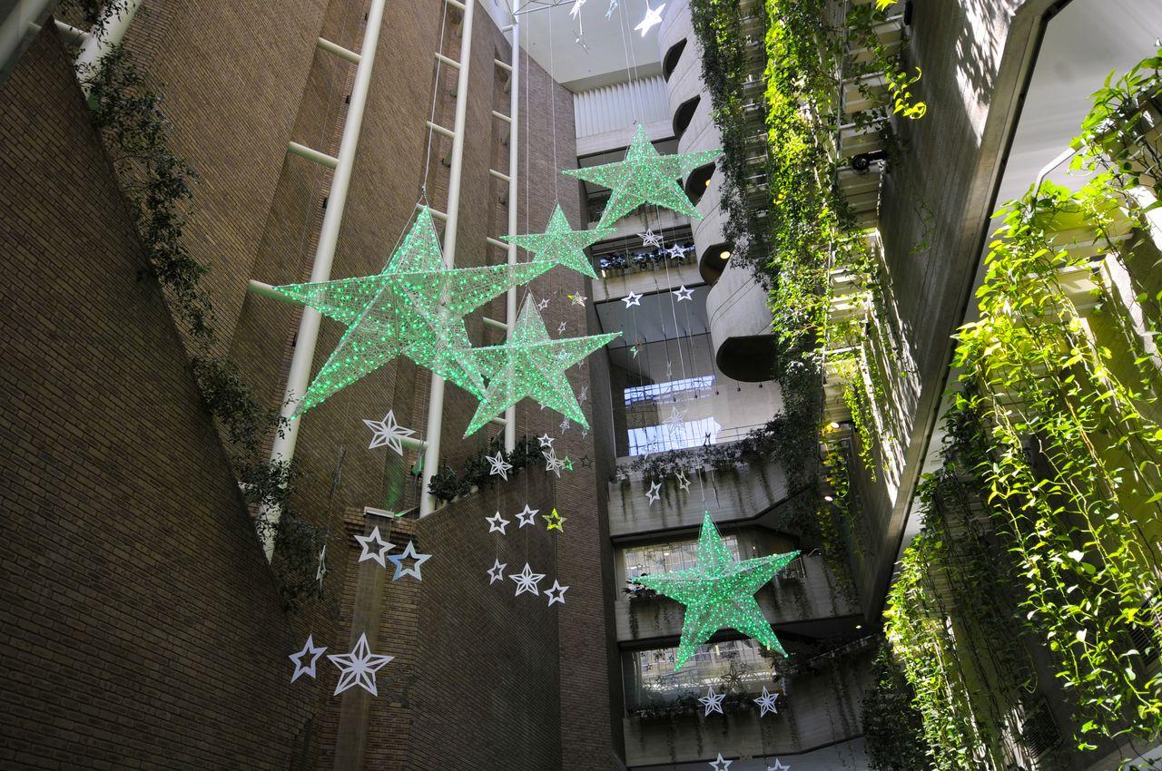 ażurowe dekoracje dla miast terrachristmas