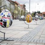 Wielkie pisanki na Wielkanoc