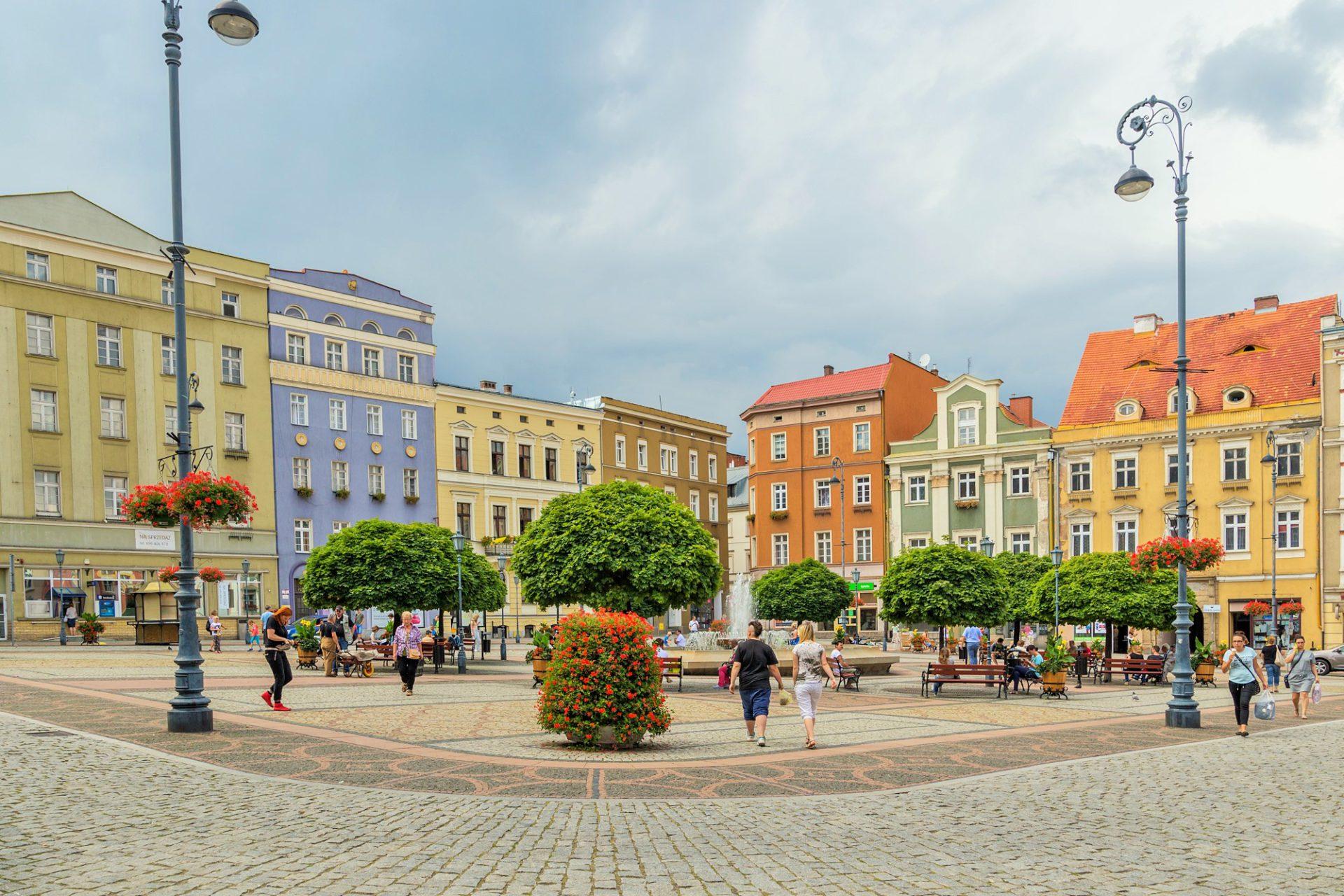 ukwiecenie miasta kwietniki miejskie wałbrzych