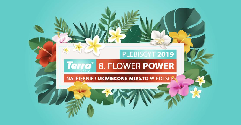 logo główne terra flower power najpiękniej ukwiecone miasto w polsce 1