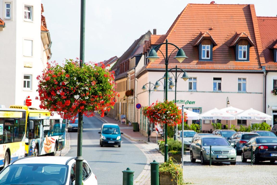 wiszące kwietniki terra group zieleń miejska 33 Wilsdruff niemcy