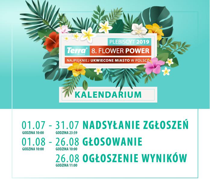 terra flower power kalendarium