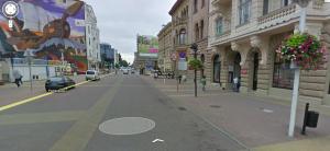 Ulica Piotrkowska w Google Street View