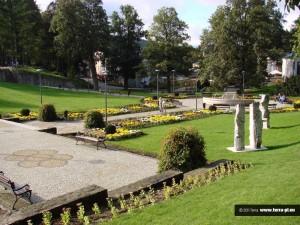 Zielony park miejski