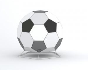 TerraBall - architektoniczna forma inspirowana Euro 2012