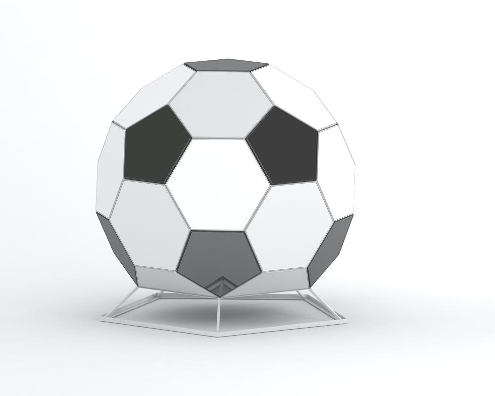 TerraBall – architektoniczna forma inspirowana Euro 2012