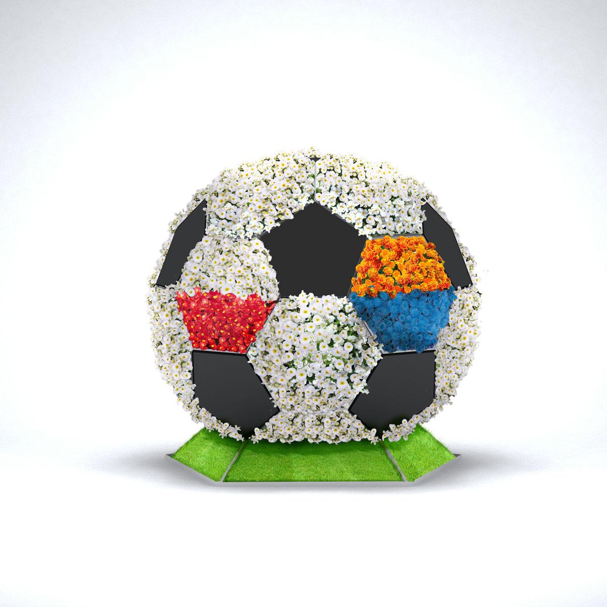 Kwiatowe piłki TerraBall