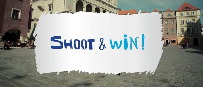 """""""Shoot & win"""" czyli nowa kampania Poznania i Euro 2012 za granicą"""