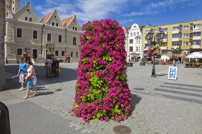 Wieże kwiatowe