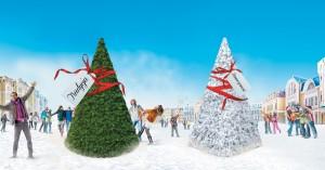 Trzy sposoby na świąteczne ozdoby miejskie