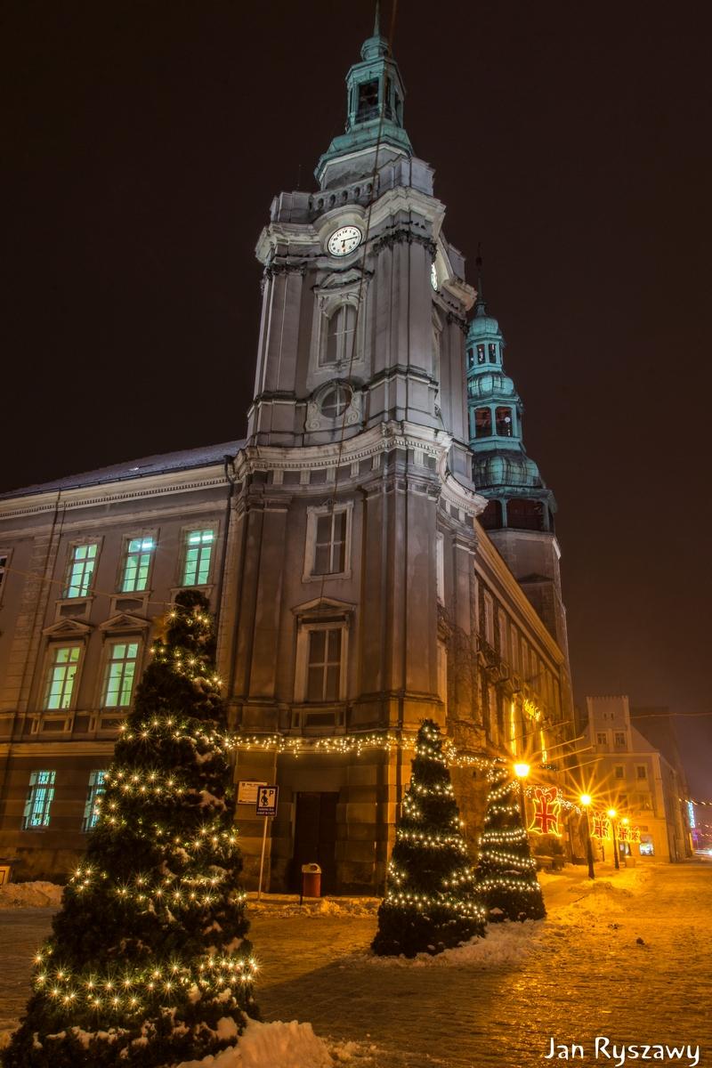 Iluminacje świąteczne w Szprotawie