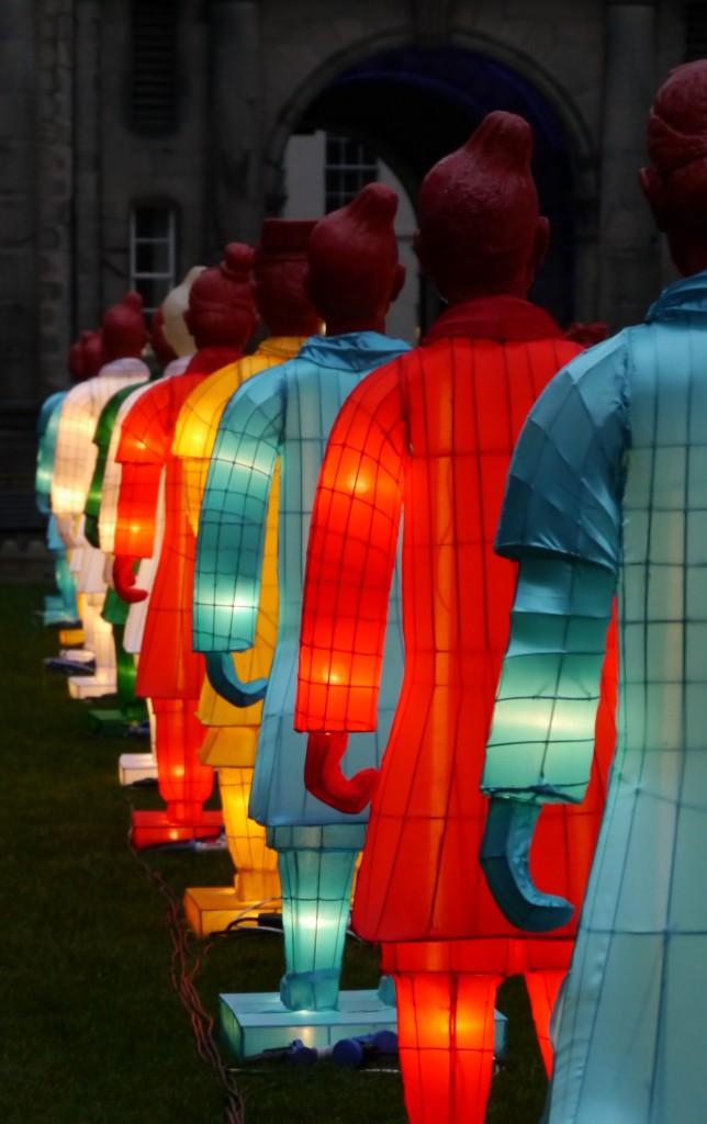 The Lanterns of Terracotta Warriors