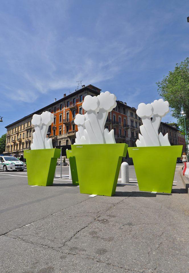 Piazza Castello Slide