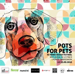Pots For Pets - zalicytuj i pomóż zwierzakom!