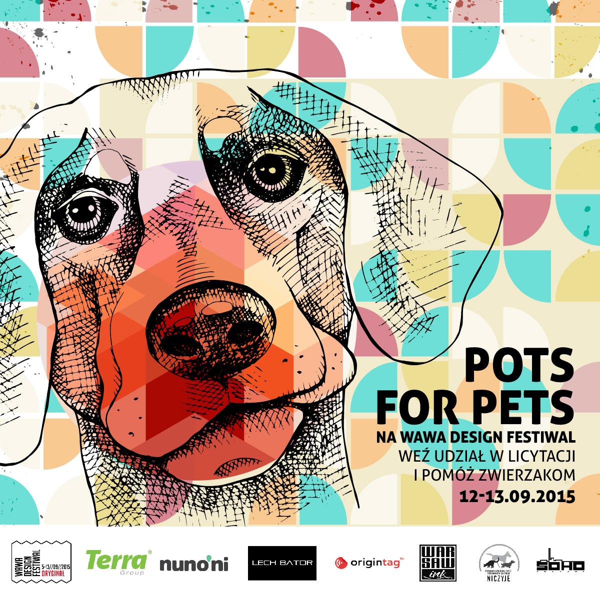 Pots For Pets – zalicytuj i pomóż zwierzakom!