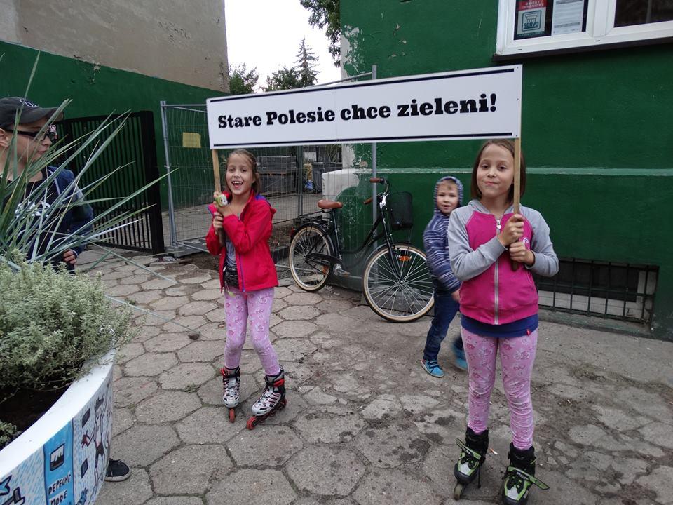 Wędrujące Drzewa: Przystanek ul. Pogonowskiego!