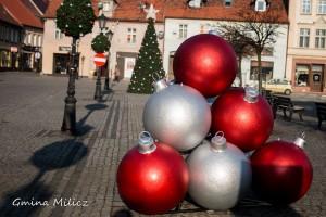 Świąteczne dekoracje w Miliczu