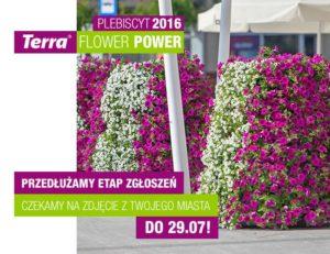 Plebiscyt Terra Flower Power – dodatkowy tydzień zgłoszeń!