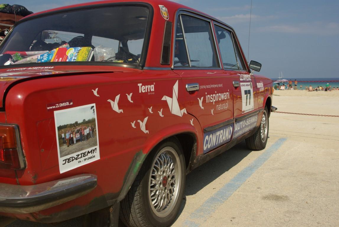 Inspirowani i Terra Group jadą w Złombolu