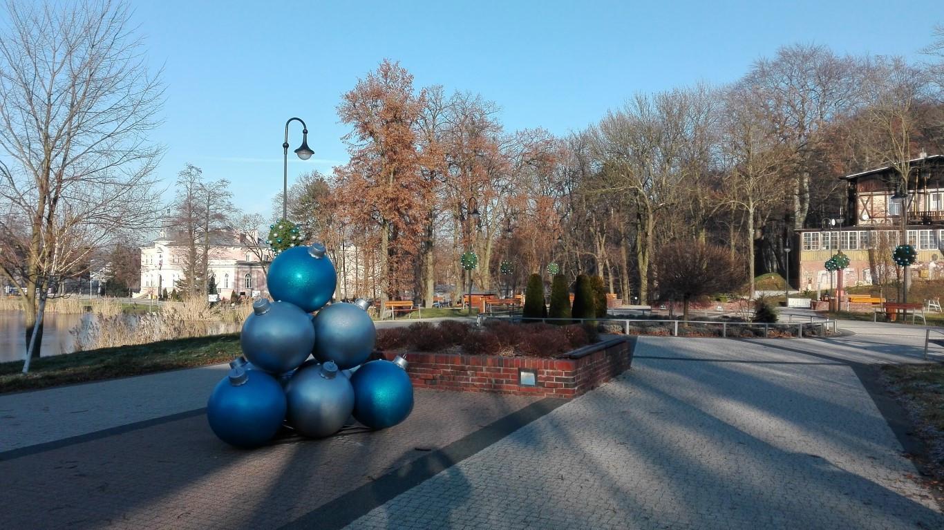 Przygotowania do świąt w Trzebnicy