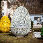 Wielkanocne dekoracje wZielonej Górze