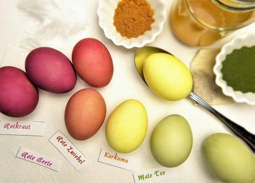Naturalne barwienie jaj – to łatwe!