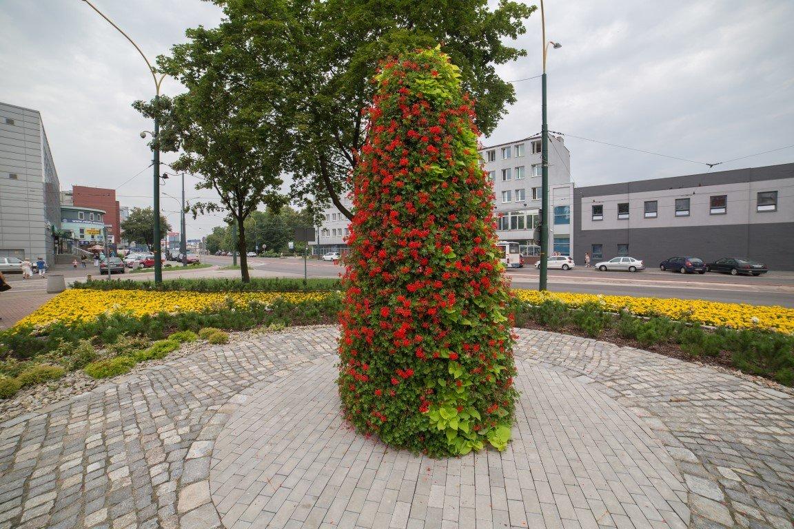 ukwiecenie sosnowca wieże kwiatowe terra group H 3400