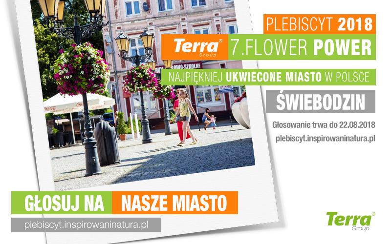 terra flower power świebodzin