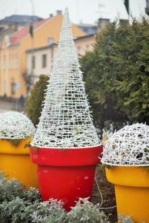 donice gianto ażurowe dekoracje świąteczne terrachristmas