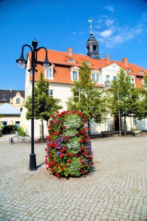 wieże kwiatowe kwietniki miejskie terra