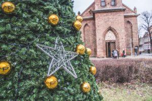 Święta w Gdańsku - miejska choinka przyjazna środowisku