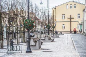 świąteczne dekoracje nakładki miejskie terrachristmas kórnik
