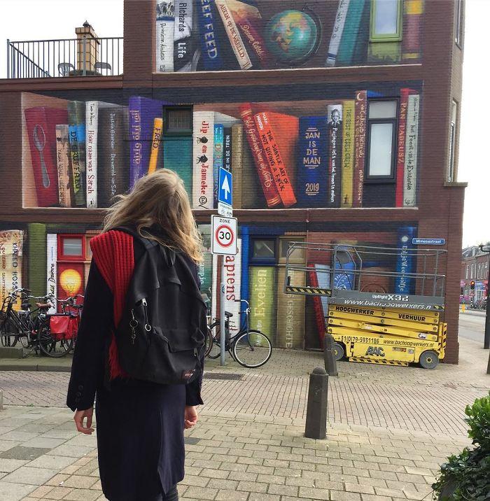 Najbardziej zaczytany mural w Europie