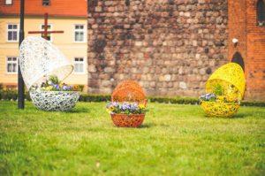 wielkanocne dekoracje pisanki xxl Rumia terraeaster