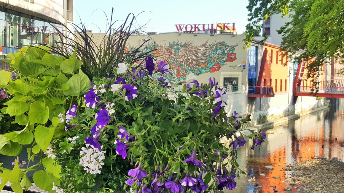 wieże kwiatowe kwietniki miejskie skrzynki kwiatowe terra group bielsko biała 3