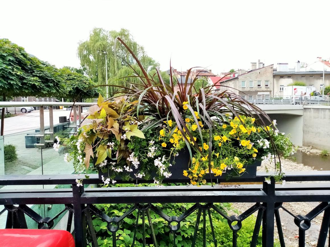wieże kwiatowe kwietniki miejskie skrzynki kwiatowe terra group bielsko biała 8