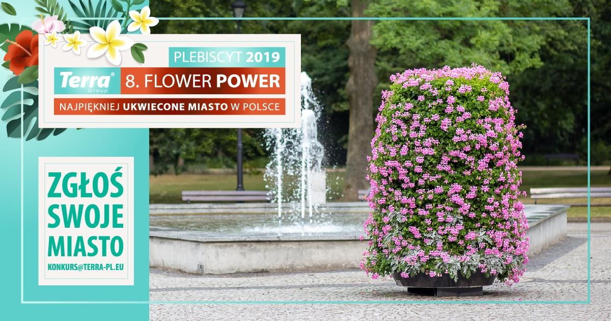 Ruszył plebiscyt Terra Flower Power – zgłoś swoje miasto!