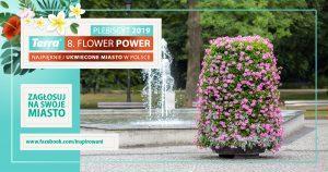 Zagłosuj na swoje miasto w plebiscycie Terra Flower Power!