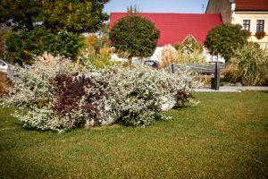 wieże kwiatowe ażurowe dekoracje kwietniki miejskie terra jesień śmigiel 23