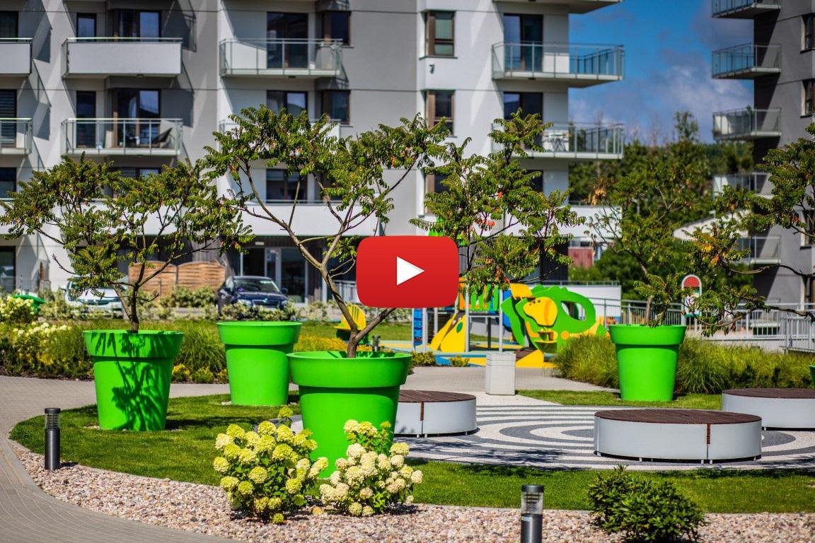 Twoje piękne… osiedle! Gdańska dzielnica w zieleni. Zobacz film