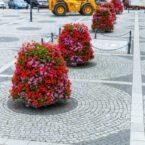 wieże kwiatowe kwietniki miejskie terra trzebnica 1