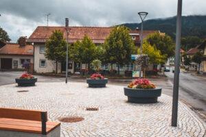 Donice miejskie… z widokiem