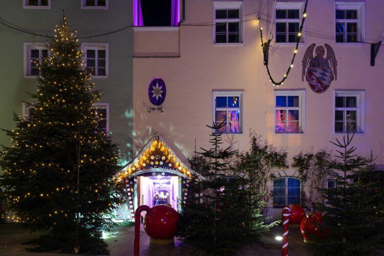 świąteczne dekoracje miejskie bawaria vilshofen