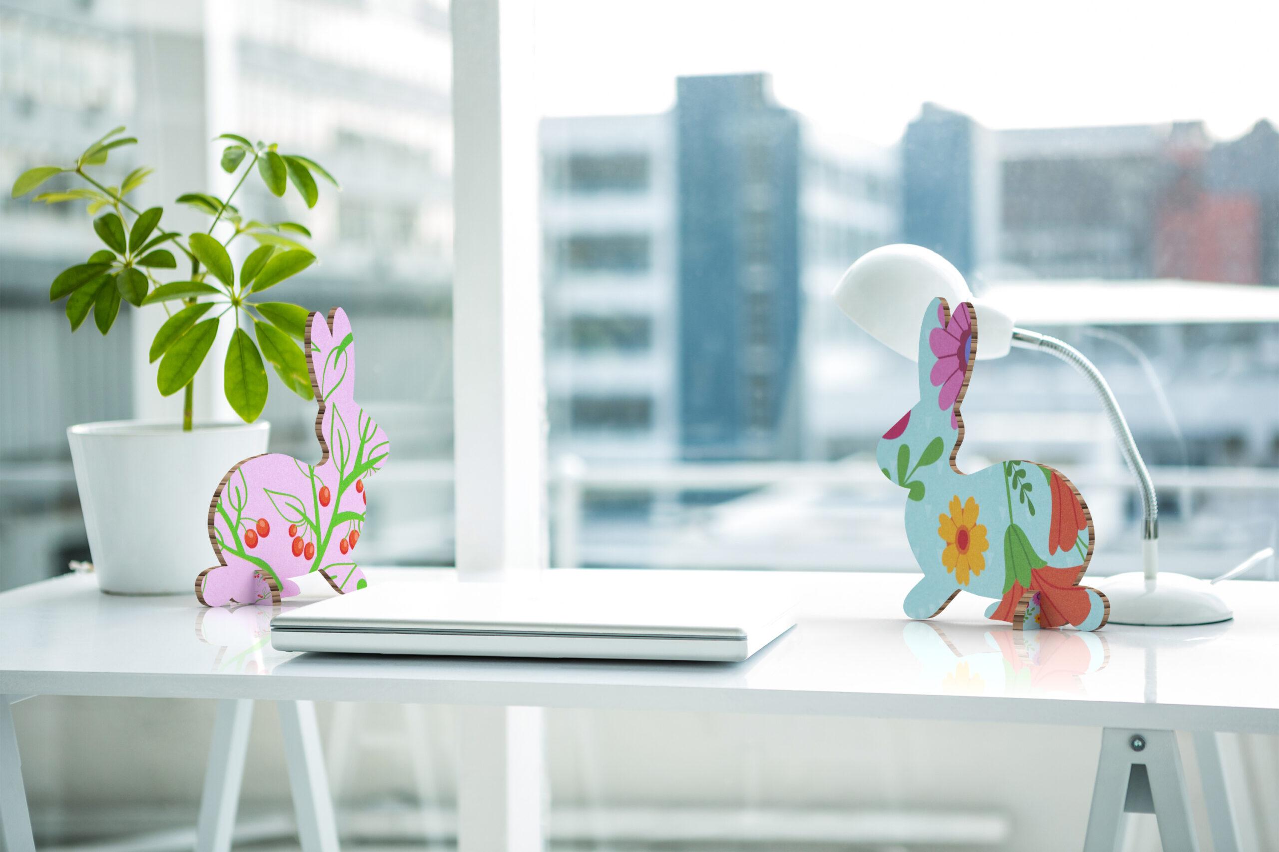 wielkanocne dekoracje dla biur